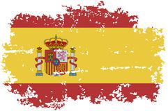 bandeira-espanhola-do-grunge-ilustração-do-vetor-49241925