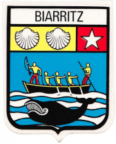 blason biarritz cetus baleine